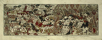 Cantastoria - Wayang beber, a Javanese cantastoria art thought to be extinct but was rediscovered in the 1960s.