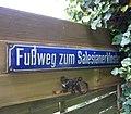 Wegweiser zum vormaligen Salesianerkloster in Schleiden, Eifel.jpg