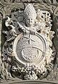 Weißenau Klosterkirche Westfassade Wappen Abt Mauch detail.jpg