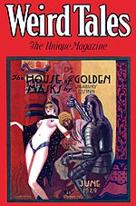 Weird Tales cover image for June 1929