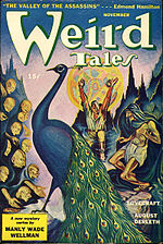 Weird Tales cover image for November 1943