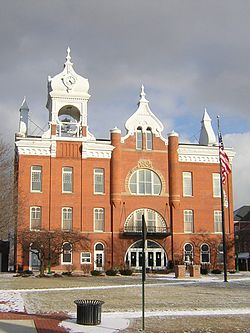 Town hall of the village of wellington