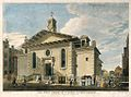 West Front of St Paul's, Covent Garden, by Edward Rooker after Paul Sandby, 1766 - gac 06359.jpg