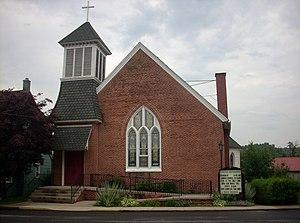 West Milton, Pennsylvania - West Milton United Methodist Church
