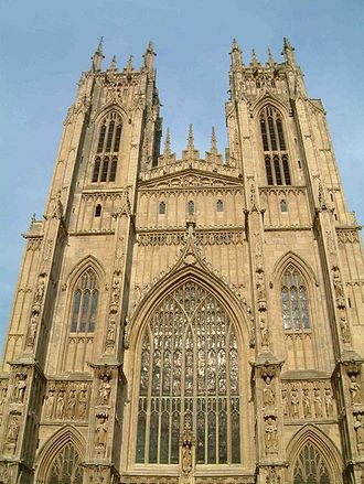 Roger Northburgh - Beverley Minster, one of many churches where Northbugh held a canonry.