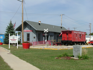 Westville, Illinois - Museum in Westville