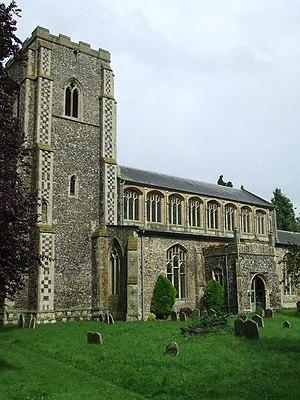 Wetheringsett - Image: Wetheringsett Church of All Saints