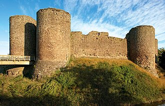 White Castle, Monmouthshire - Image: White Castle, Cadw image