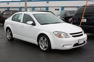 Chevrolet Cobalt two generations of front-wheel drive cars