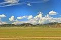 Widoki mongolskiego krajobrazu widziane z minibusa Karakorum - Ułan Bator (14).jpg