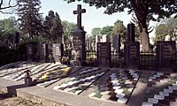 A scene at the Zentralfriedhof