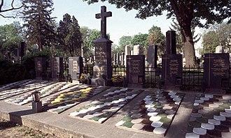 Simmering (Vienna) - A scene at the Zentralfriedhof