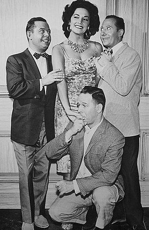 Wiere Brothers - From left: Sylvester, Herbert, and Harry from their 1962 television show, Oh, Those Bells!.