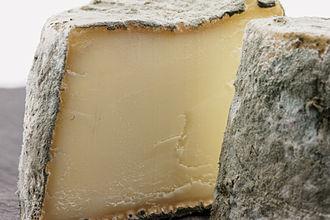 Mâconnais cheese - A cut Mâconnais