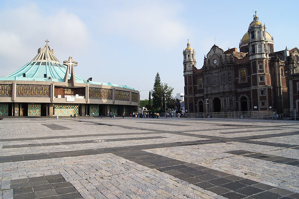 Basilica of Our Lady of Guadalupe, Mexico City.