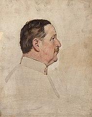 Ohne Titel (Portraitstudie Freiherr von Manteuffel)