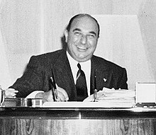 Photograph of William Zeckendorf, Sr. in 1952, in New York City