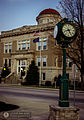 Williamsport, Indiana Clock & Courthouse.JPG