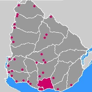 Uruguayan wine - Former Wine Regions of Uruguay