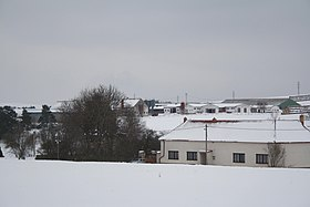 Winter overview of Slavičky, Třebíč District.jpg