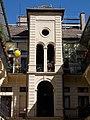 Wirnhardt house. Staircase and balloon. - 64 József Boulevard, Budapest.JPG