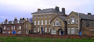 Wisbech Grammar School school in Cambridgeshire, UK