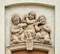 Wohnhausanlage Vierthaltergasse 11-17 - relief by Alfons Riedel.jpg