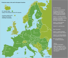 Wolf - protection status in Europe 1.png