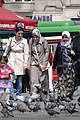 Women Stroll through Taksim Square - Istanbul - Turkey (5719688560).jpg