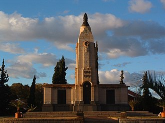 World War I memorial in Kimberley World War I memorial in Kimberley.jpg