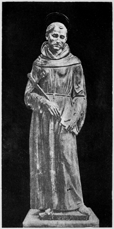 Writings of St Francis Assisi - Statue of St. Francis.png