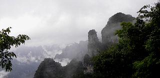 Wufeng Tujia Autonomous County County in Hubei, Peoples Republic of China