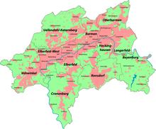 wo liegt mönchengladbach