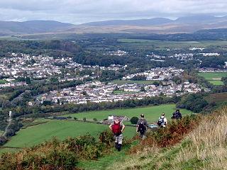 Ystalyfera Human settlement in Wales