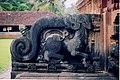 Yali baluster in the Aghoreshwara temple at Ikkeri.jpg