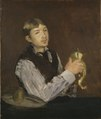 Young Boy Peeling a Pear (Édouard Manet) - Nationalmuseum - 18501.tif