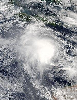 2016–17 Australian region cyclone season - Image: Yvette 2016 12 22 0615Z