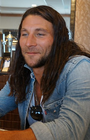 Zach McGowan - McGowan at the 2013 San Diego Comic-Con International