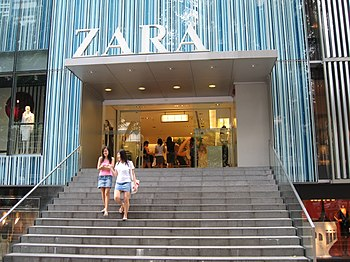 A Zara store at Liat Towers, Singapore.