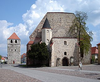 Zerbst Place in Saxony-Anhalt, Germany