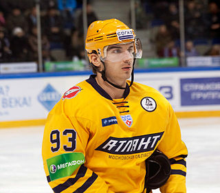 Nikolay Zherdev Russian ice hockey player