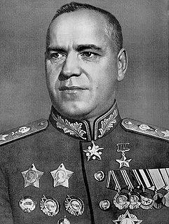 Georgy Zhukov Marshal of the Soviet Union (1896–1974)