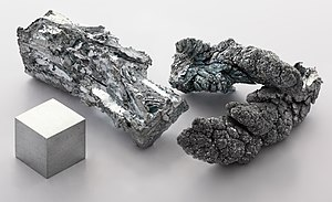 Post-transition metal - Zinc