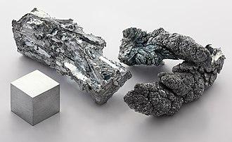 Post-transition metal - Zinc