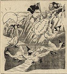 """""""L'oncle de l'Europe"""" devant l'objectif caricatural - изображения anglaises, françaises, italiennes, allemandes, autrichiennes, hollandaises, belges, suisses, espagnoles, portugaises, américaines, и т. Д. (14796639753) .jpg."""