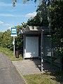 'Foki-hegyi iskola' buszmegálló, 7-es főút, 2019 Siófok.jpg