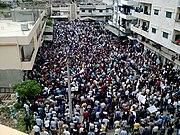 (Banyas demonstration) مظاهرات بانياس جمعة الغضب - 29 نيسان 2011