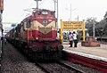 (Kakinada - Shiridi) Express at Nidadavole Junction.jpg