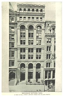 (King1893NYC) pg715 MECHANICS' NATIONAL BANK. 31 AND 33 WALL STREET, BETWEEN BROAD AND WILLIAM STREETS.jpg