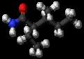 (S,S)-Valnoctamide molecule ball.png